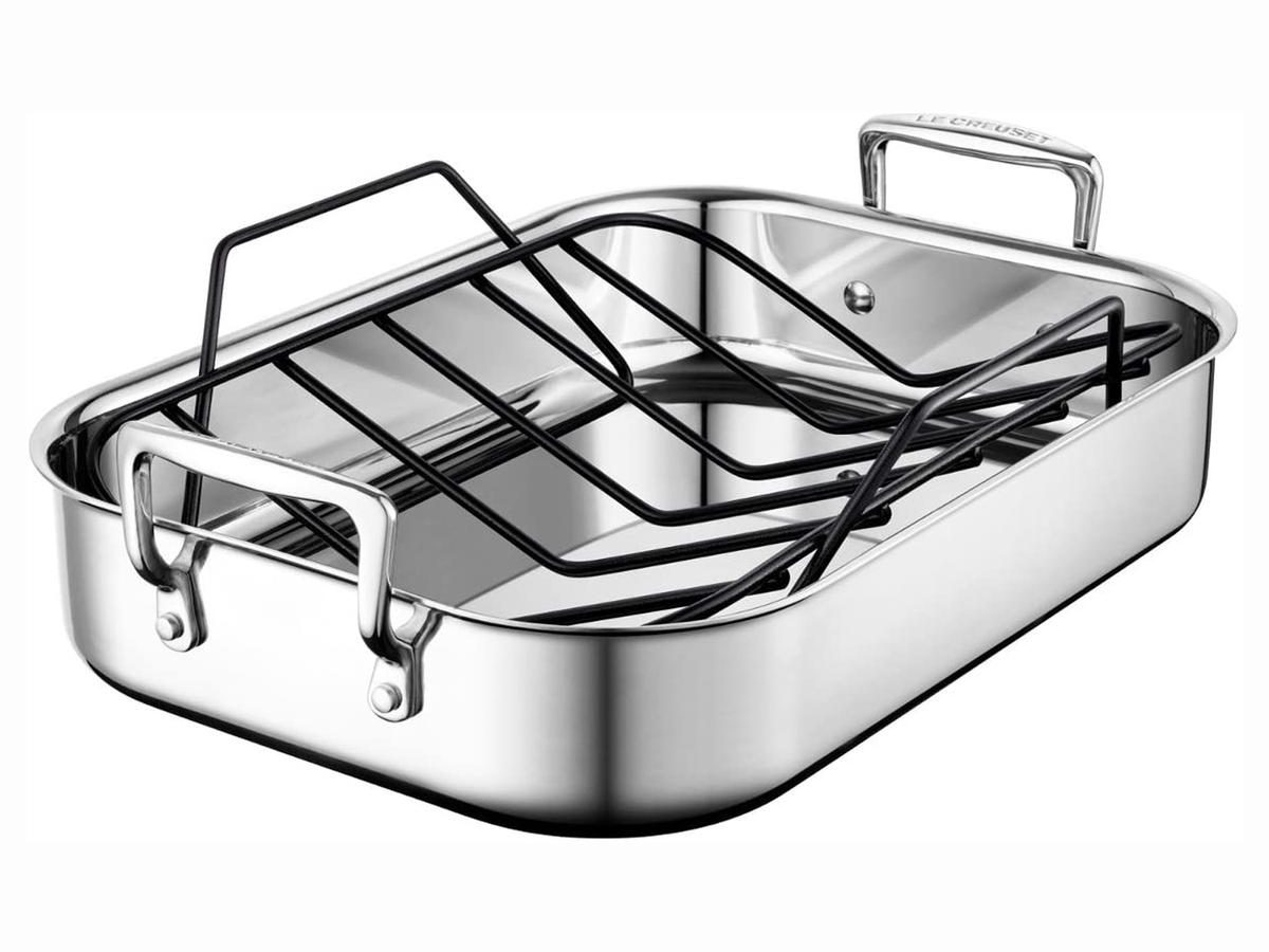 Le Creuset Stainless Steel Roasting Pan with Nonstick Rack.jpg