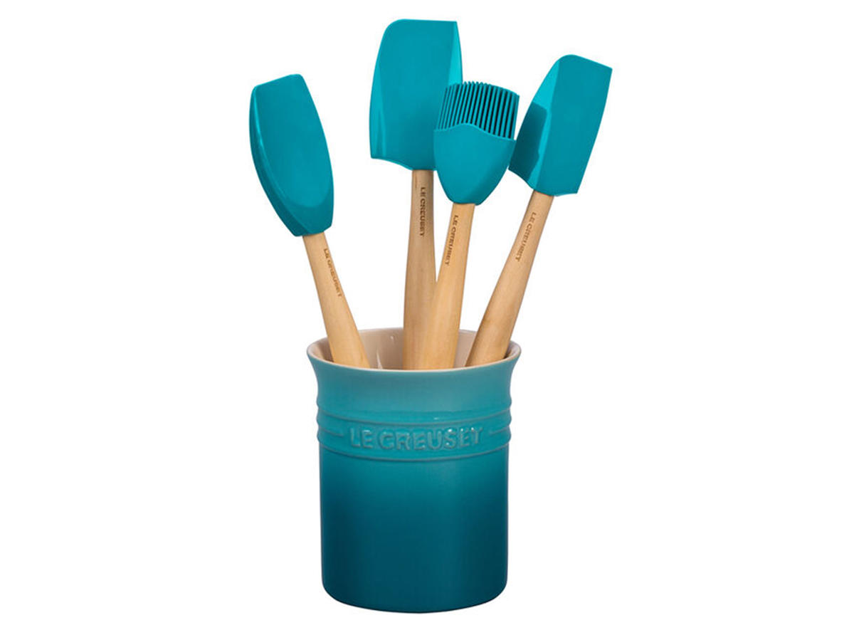 le creuset craft series utensil set
