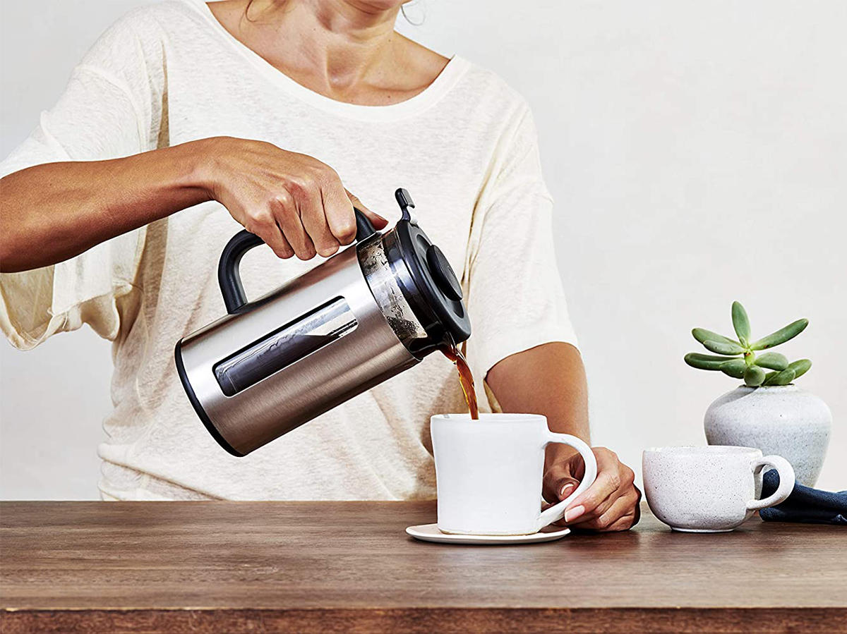 oxo brew easy clean french press coffee maker