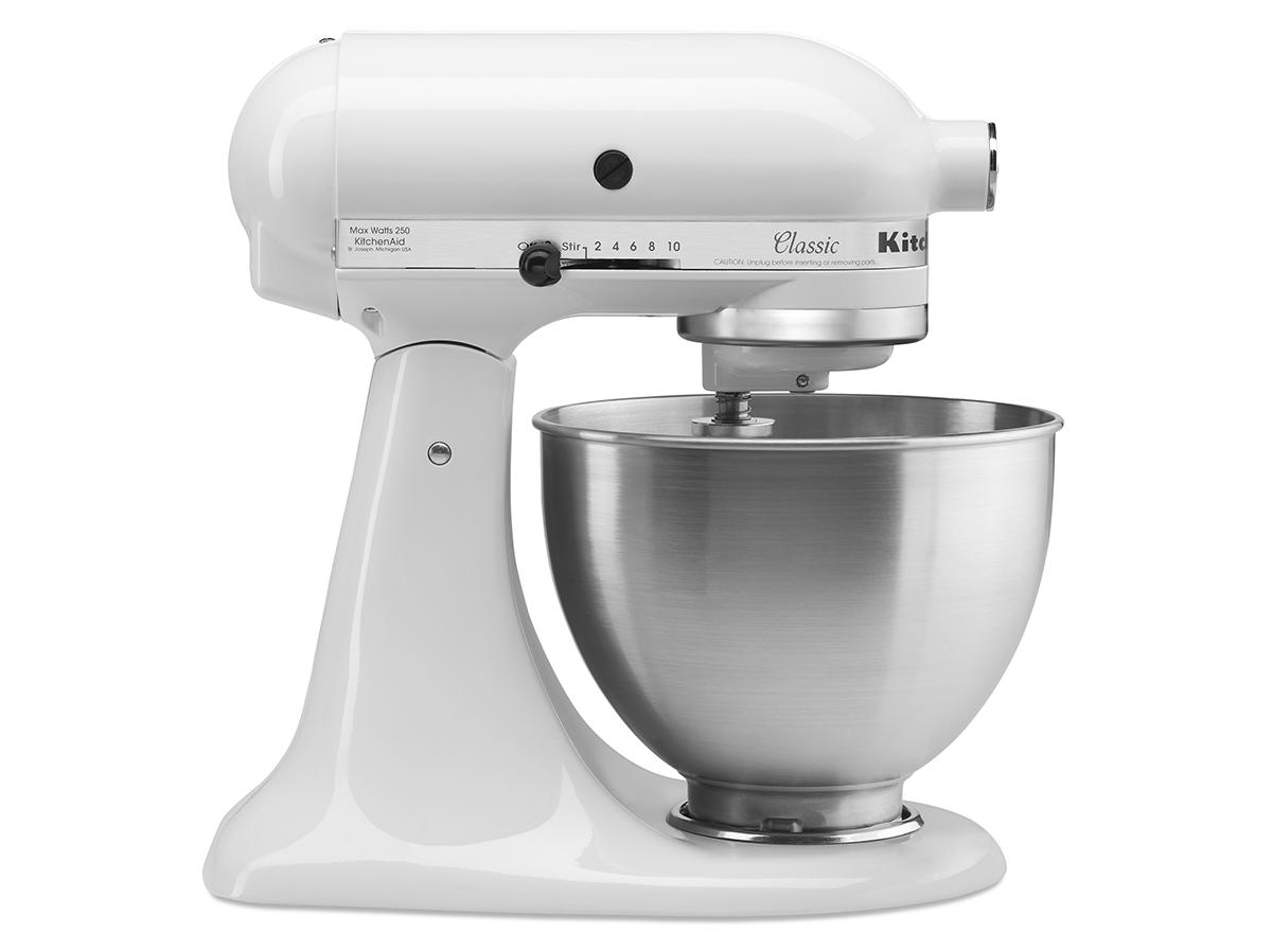 Kitchenaid Classic Series Tilt-head White Stand Mixer