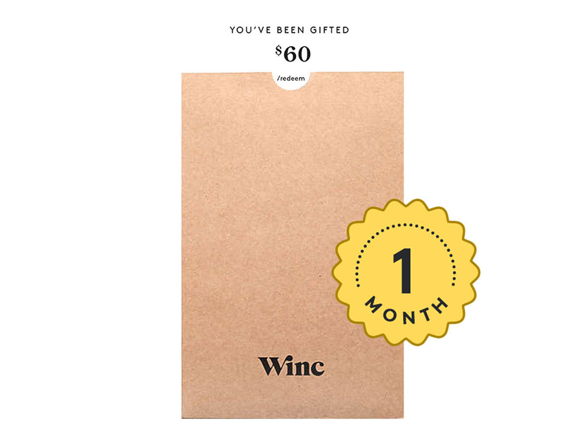 wine giftcard
