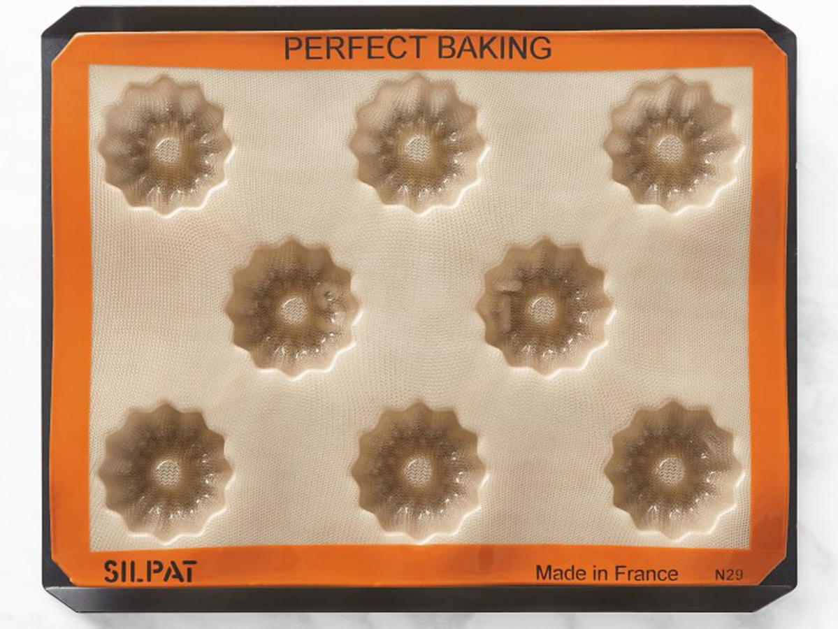 Silpat Perforated Aluminum Baking Tray and Silpat Fluted Cake Pan.jpg