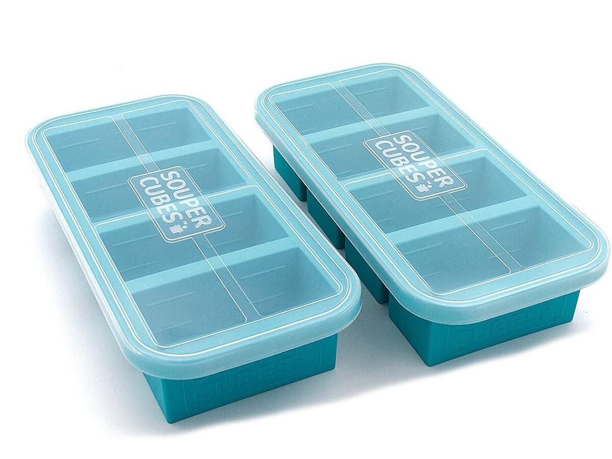 Souper Cubes 1-Cup Extra-Large Silicone Freezing Tray with Lid.jpg