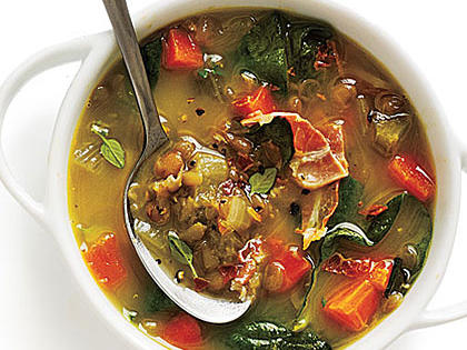 Spinach and Lentil Soup with Cheese and Basil.jpg