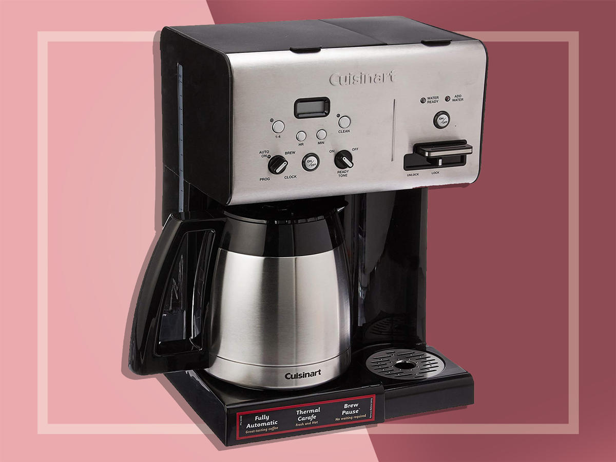 Cuisinart CHW-14 Coffee Plus 10-Cup Thermal Programmable Coffeemaker