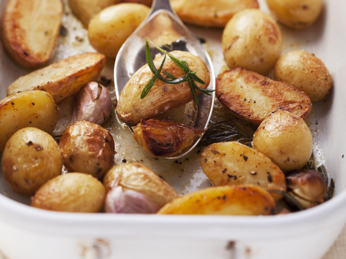 Roasting Cooking Method for Potatoes