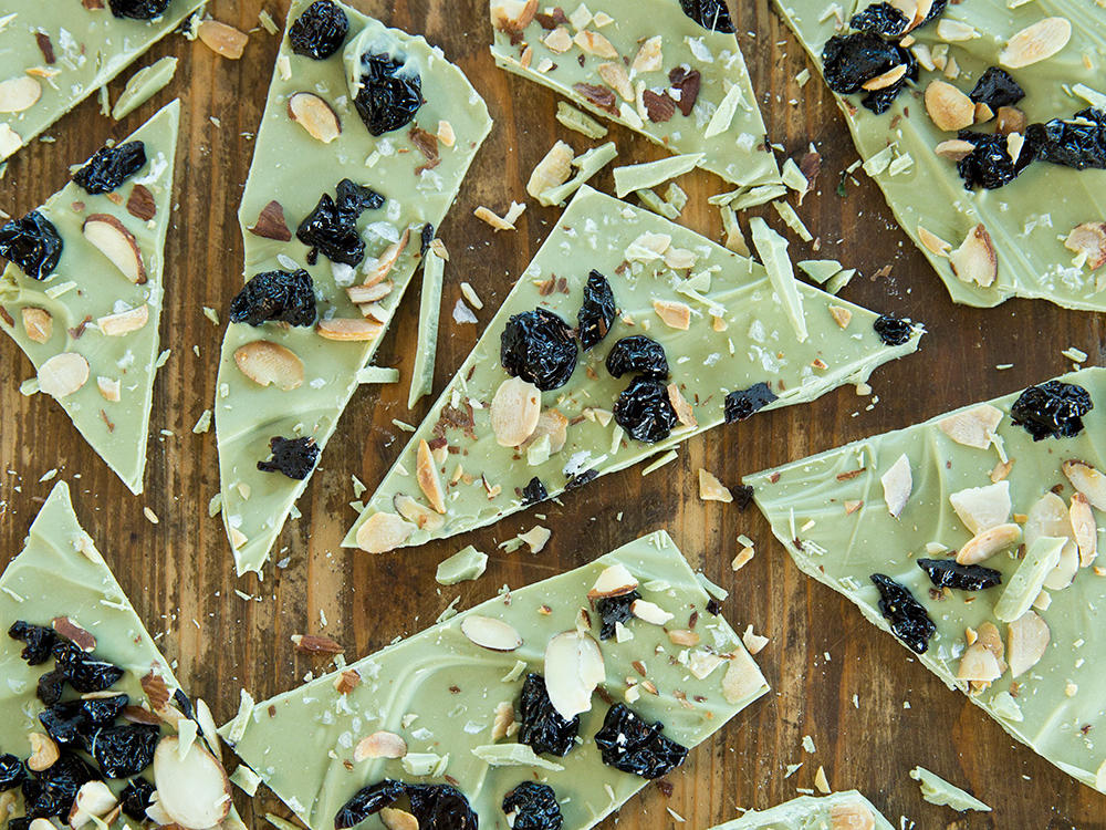 Matcha-White Chocolate Bark