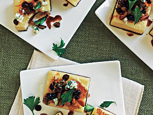 Before the turkey hits the table, whet the appetites of your guests by serving one (or more, depending on your head count) of these festive nibbles. To encourage guests to mix and mingle, set up tasting stations around the party. One thing is for sure, these recipes will get them talking.