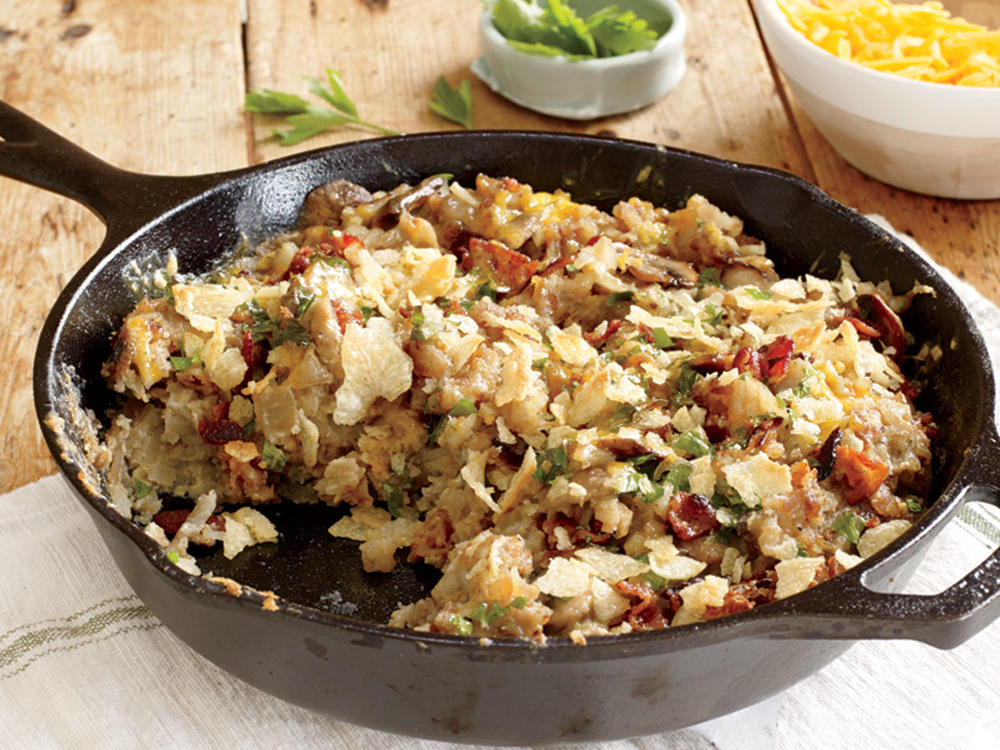 Lighter Hash Brown Casserole