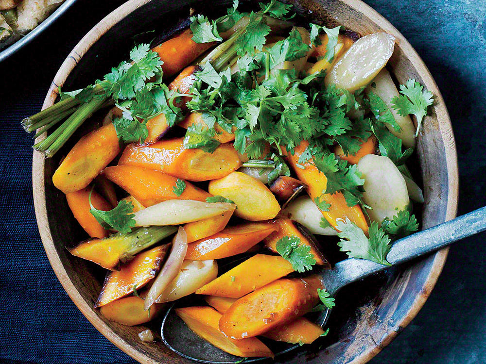 Cardamom-Glazed Carrots