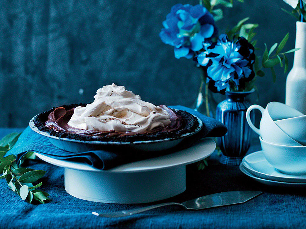 Mocha Pie with Coffee Whipped Cream