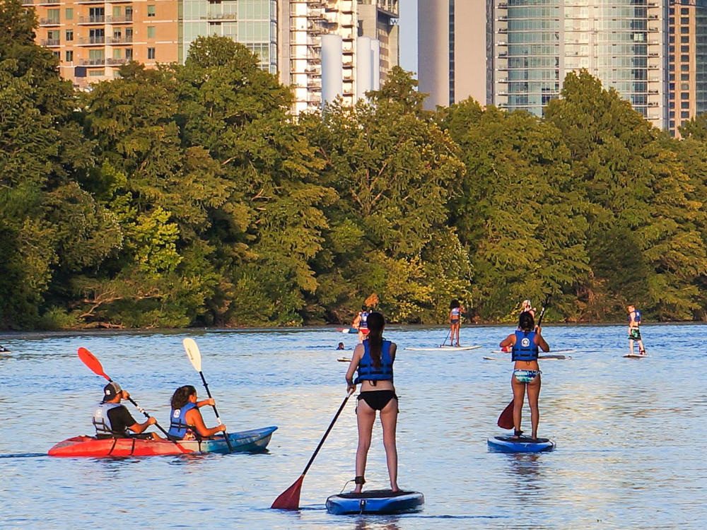 Surf and Turf: Lady Bird Lake