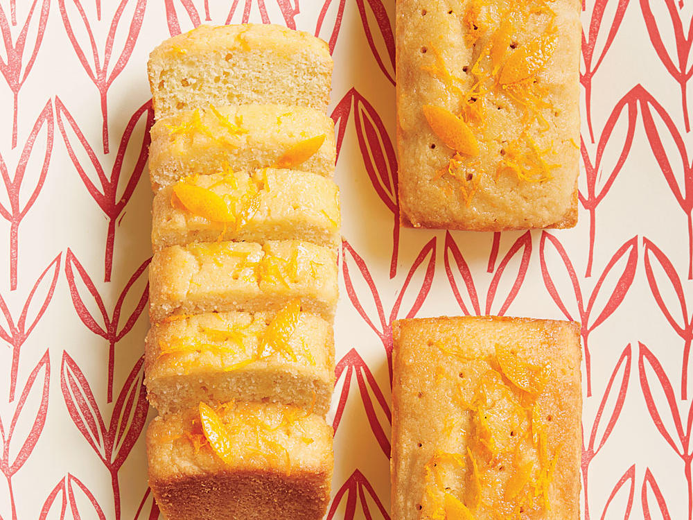 Semolina Almond Orange Cake