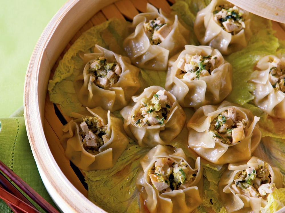 steamed vegetable sui mai dumplings recipe