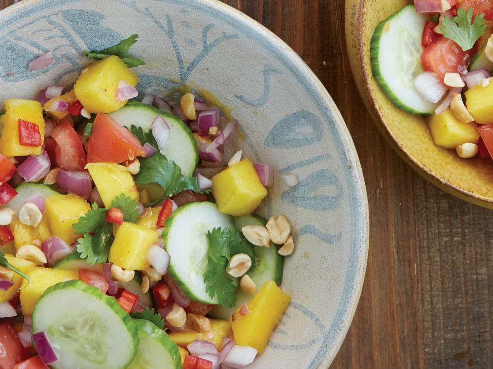 cucumber mango salad recipe
