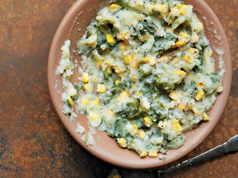 mashed peas and potatoes with corn recipe