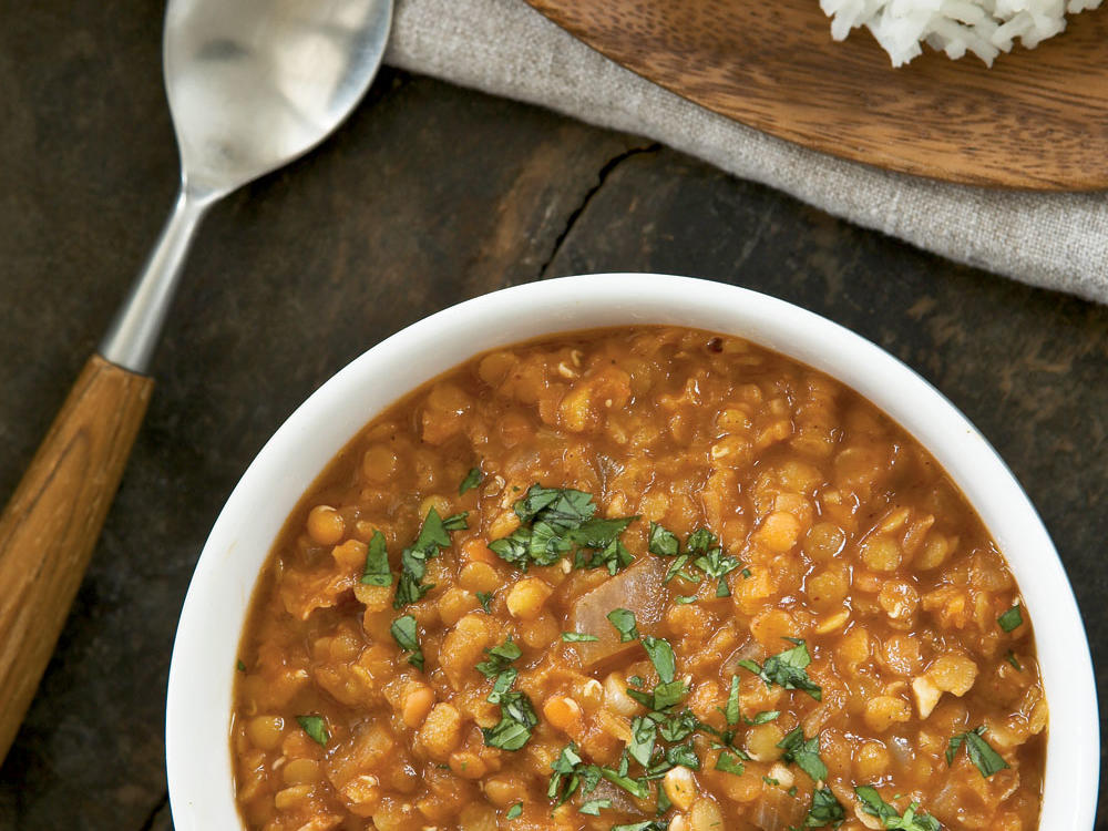 spicy ethiopian red lentil stew recipe