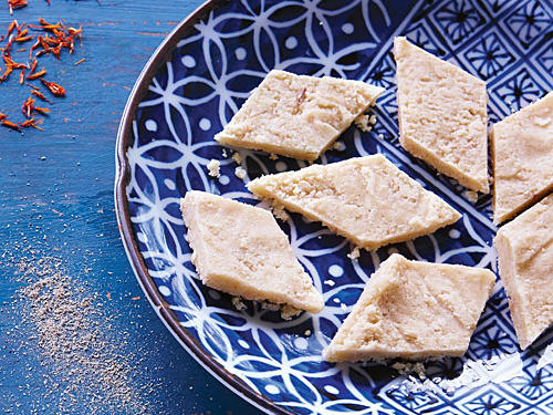 cashew fudge kaju katli recipe