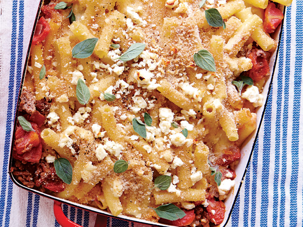 greek baked ziti recipe