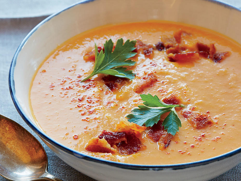 3. Roasted Vegetable Soup