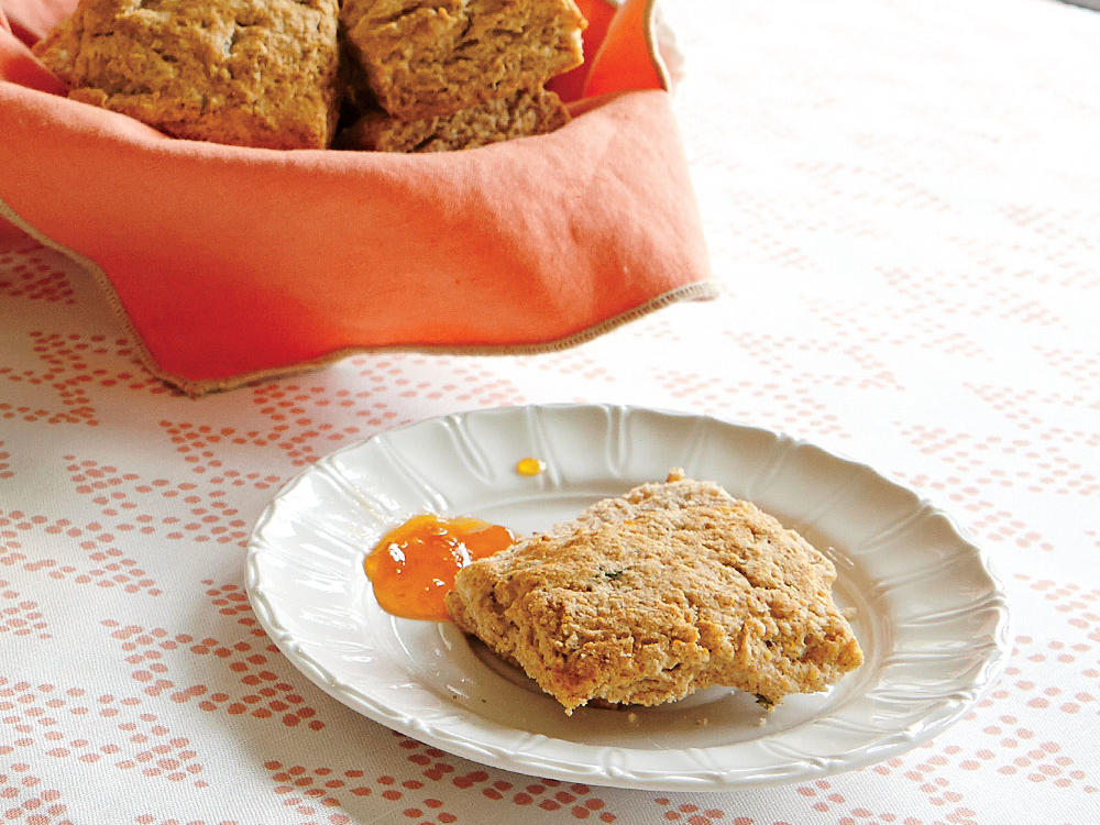 Orange, Honey, and Thyme Biscuits