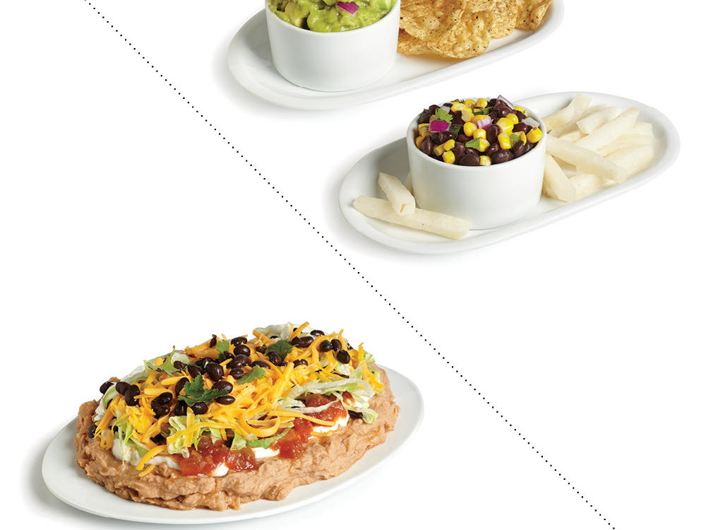 Instead of 7-Layer Bean Dip, Dip into Guac with Whole-Wheat Chips or Snack on Black Bean and Corn Salsa