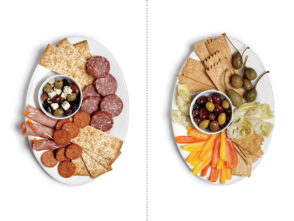 Instead of Salami, Ham, and Crackers, Veg Out with Artichokes and Olives