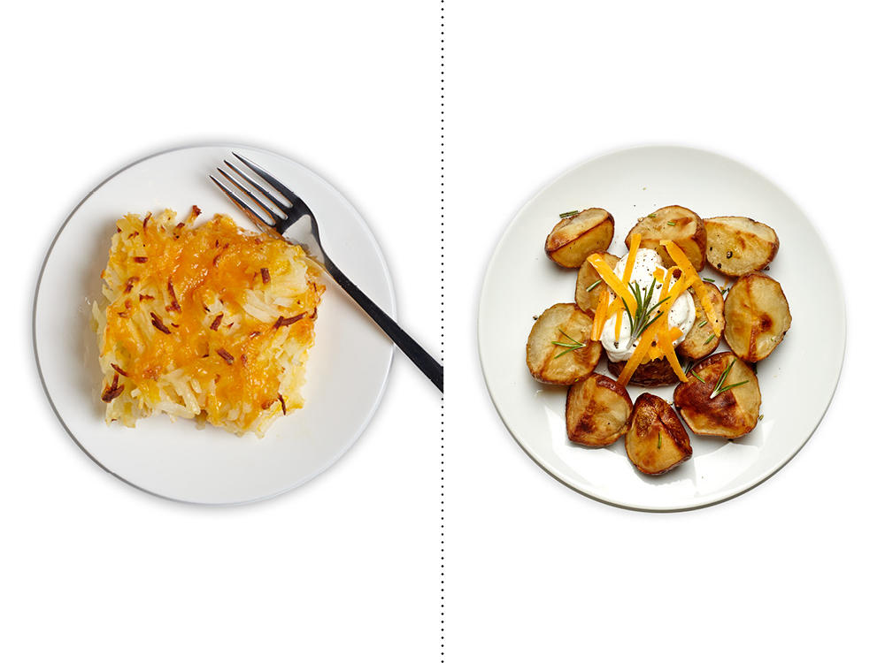1504 Instead of Classic Hashbrown Casserole, Get Your Fix with Roasted Potatoes with Garlic and Rosemary