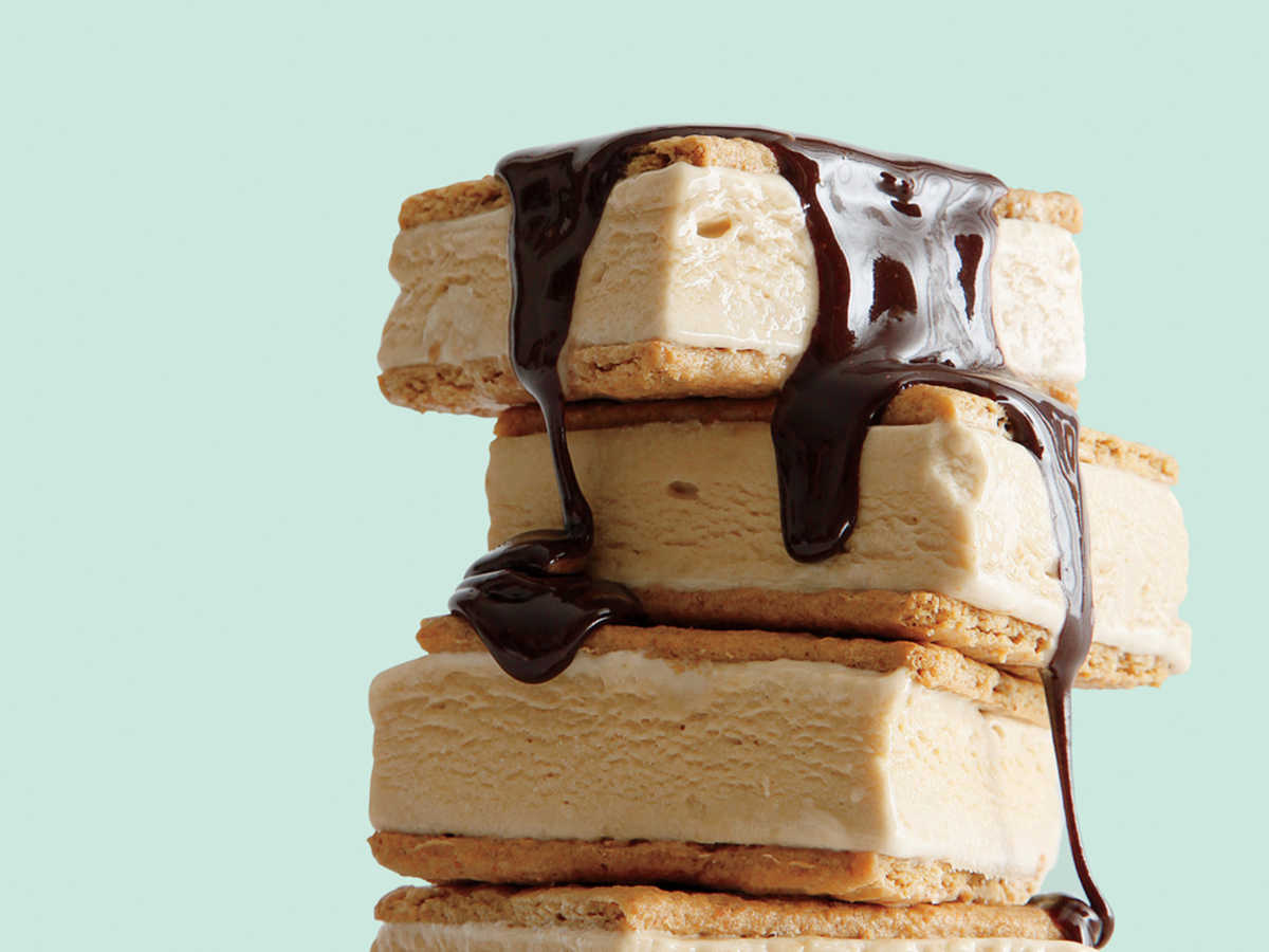 S'mores Ice-Cream Sandwiches