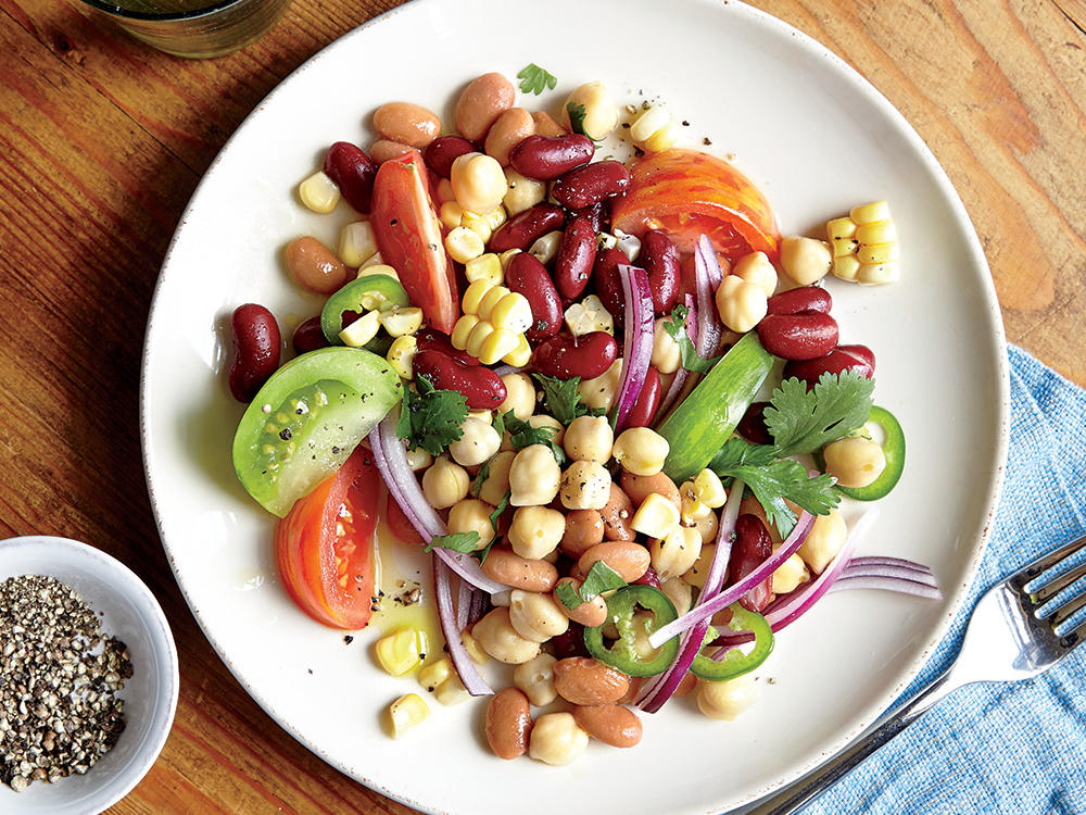 Canned Beans Salad