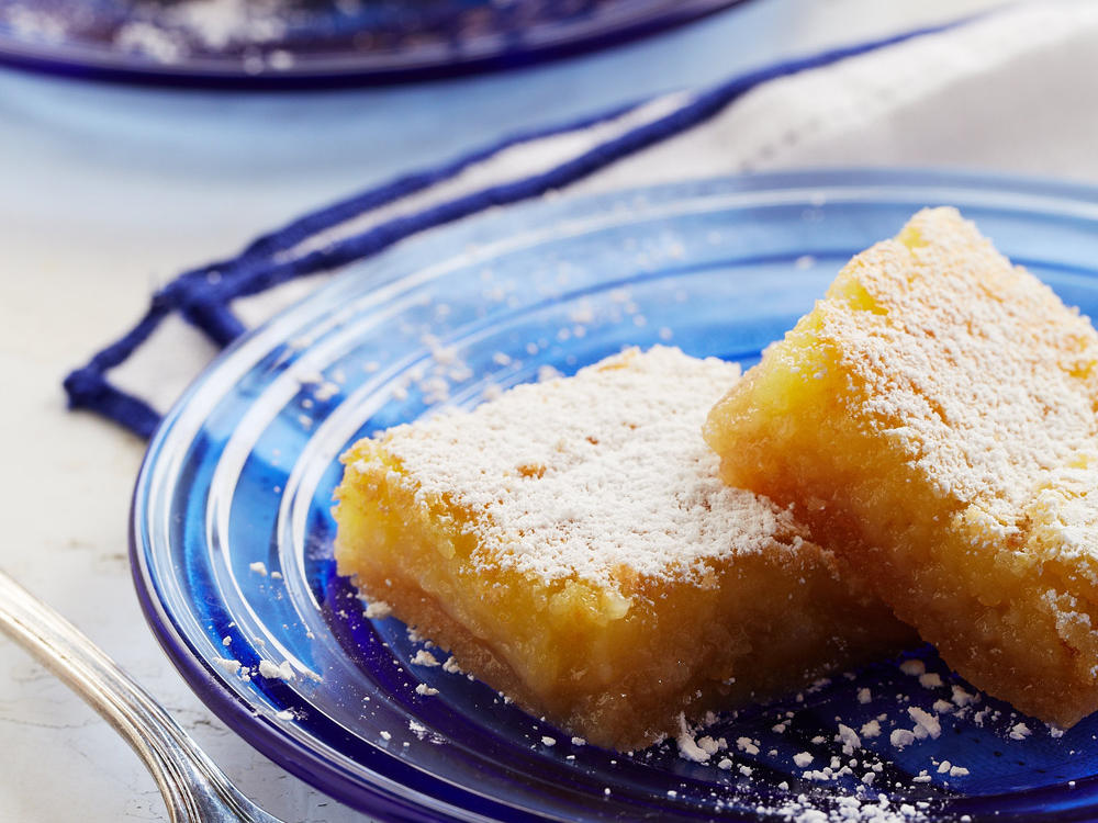 Almond-Lemon Bars
