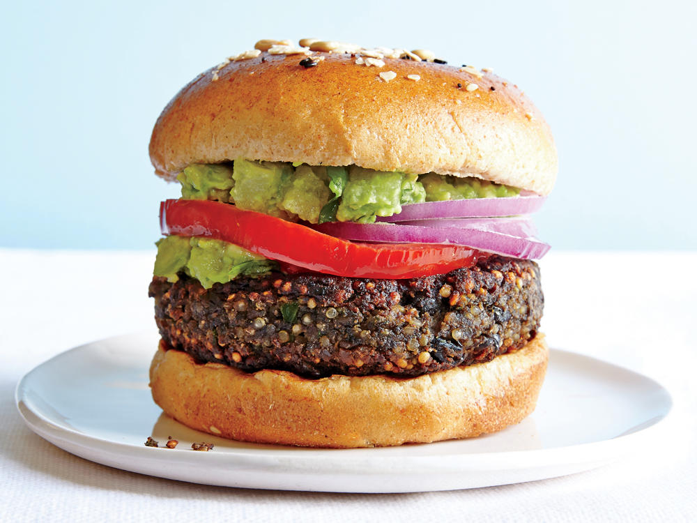 Black Bean-Quinoa Burger