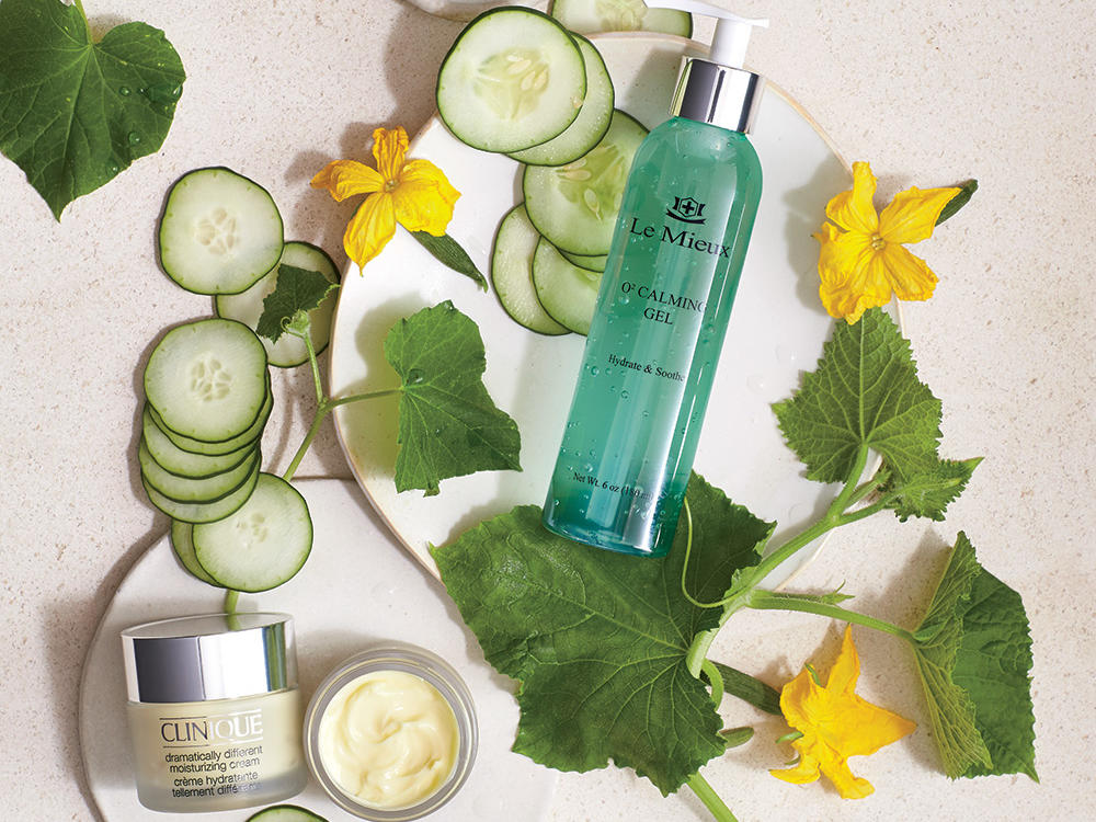 Cooling Cucumber Beauty Products