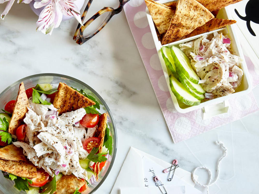 Greek-Style Chicken Salad