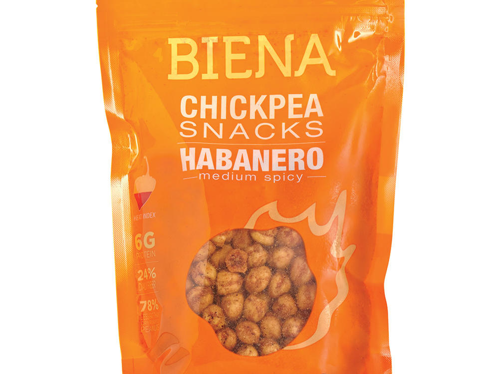 Biena Chickpea Snacks in Habanero