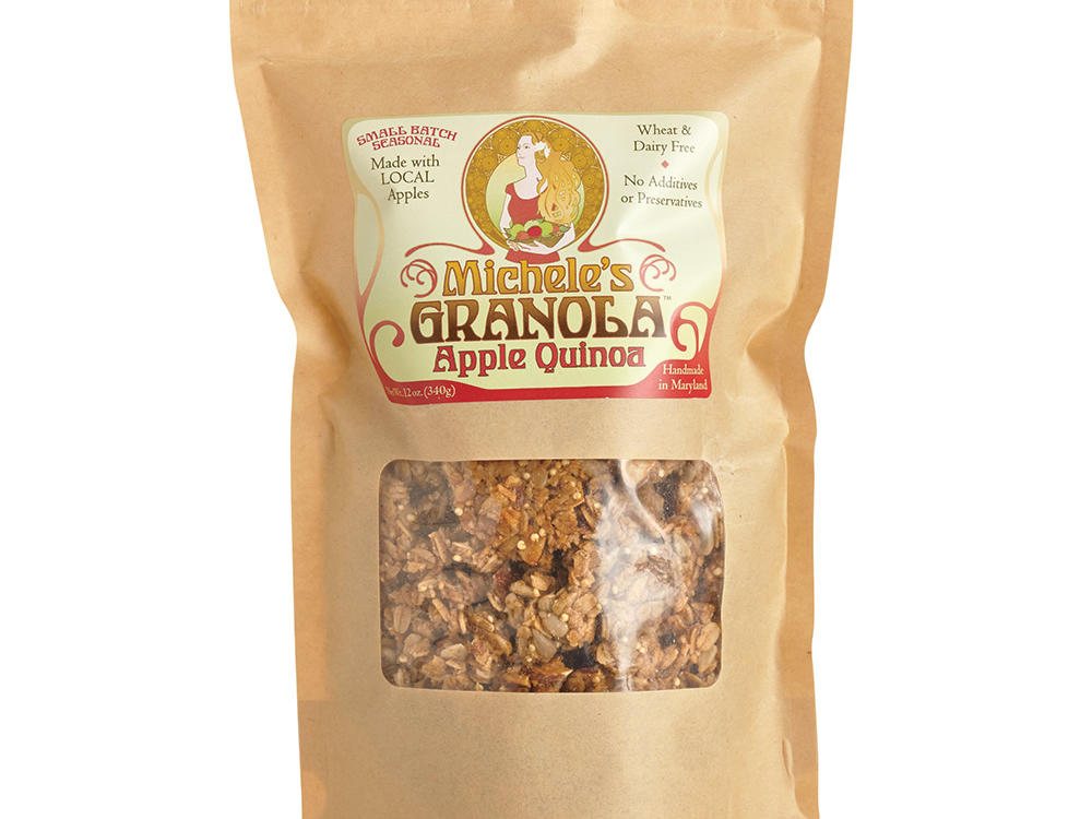 Michele's Apple Quinoa Granola