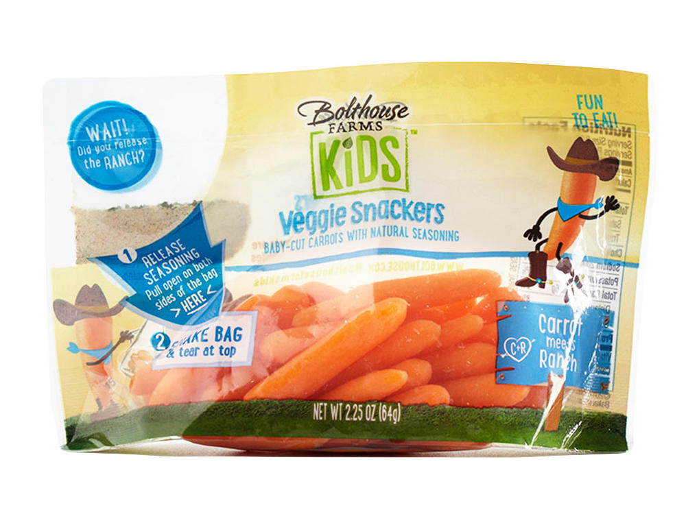 Bolthouse Farms Veggie Snackers in Carrot Meets Ranch