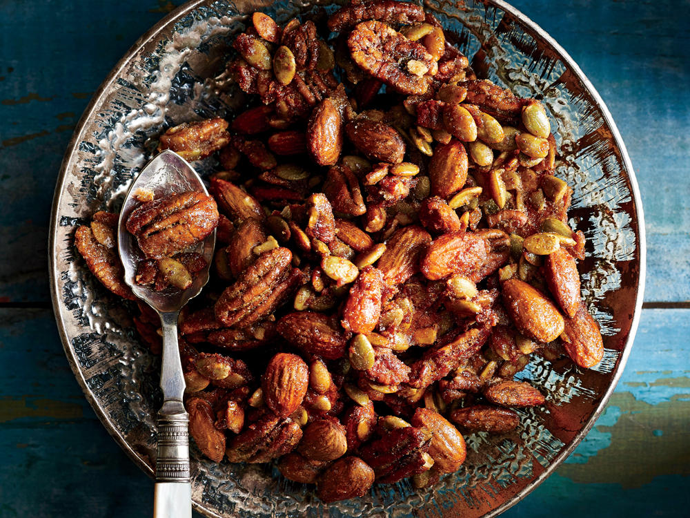 Brown Sugar-Spiced Nut Mix