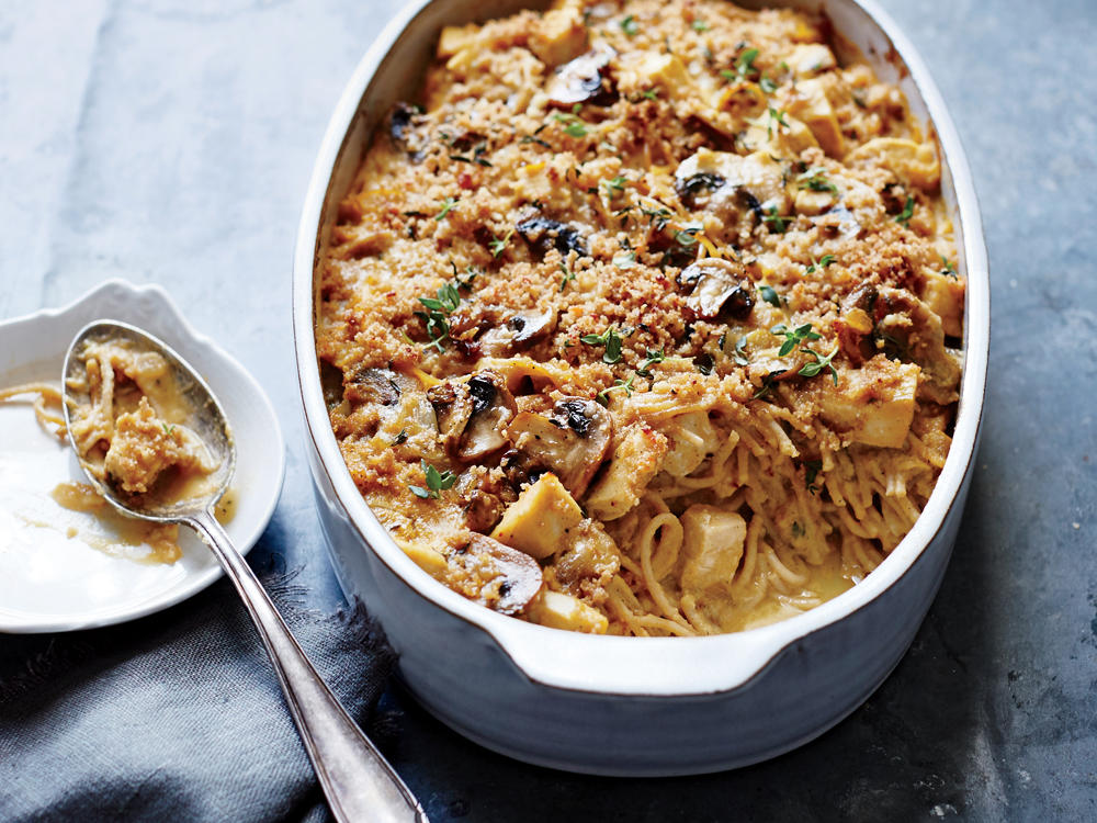 Cauliflower Turkey Tetrazzini