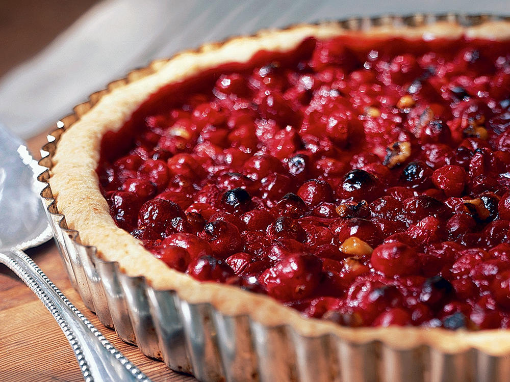 Cranberry-Orange Tart