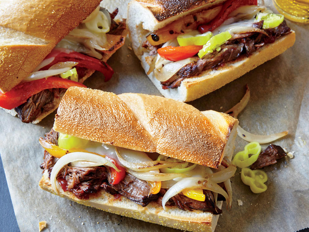 Third Meal: Italian-Style Subs with Pepperoncini