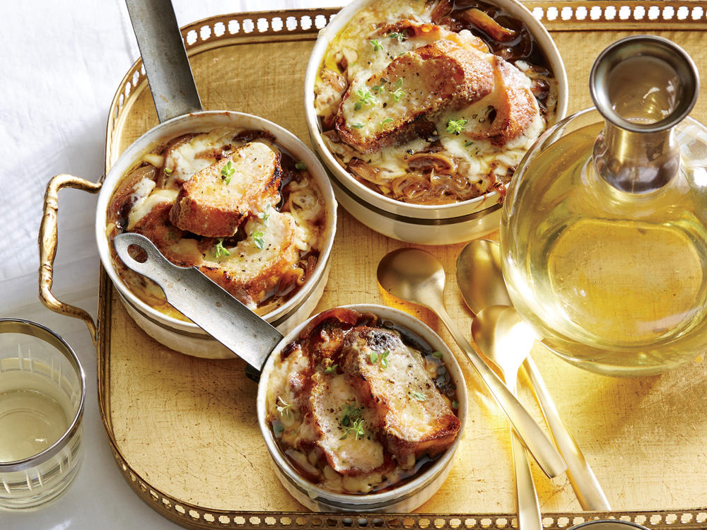 December: Classic French Onion Soup