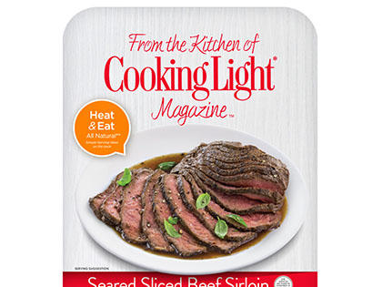 Sliced Beef Sirloin- Prepared