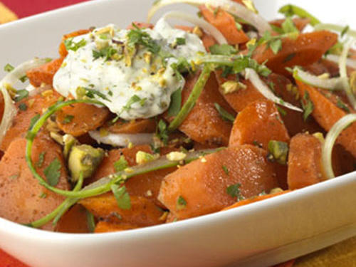 Indian Spiced Carrots