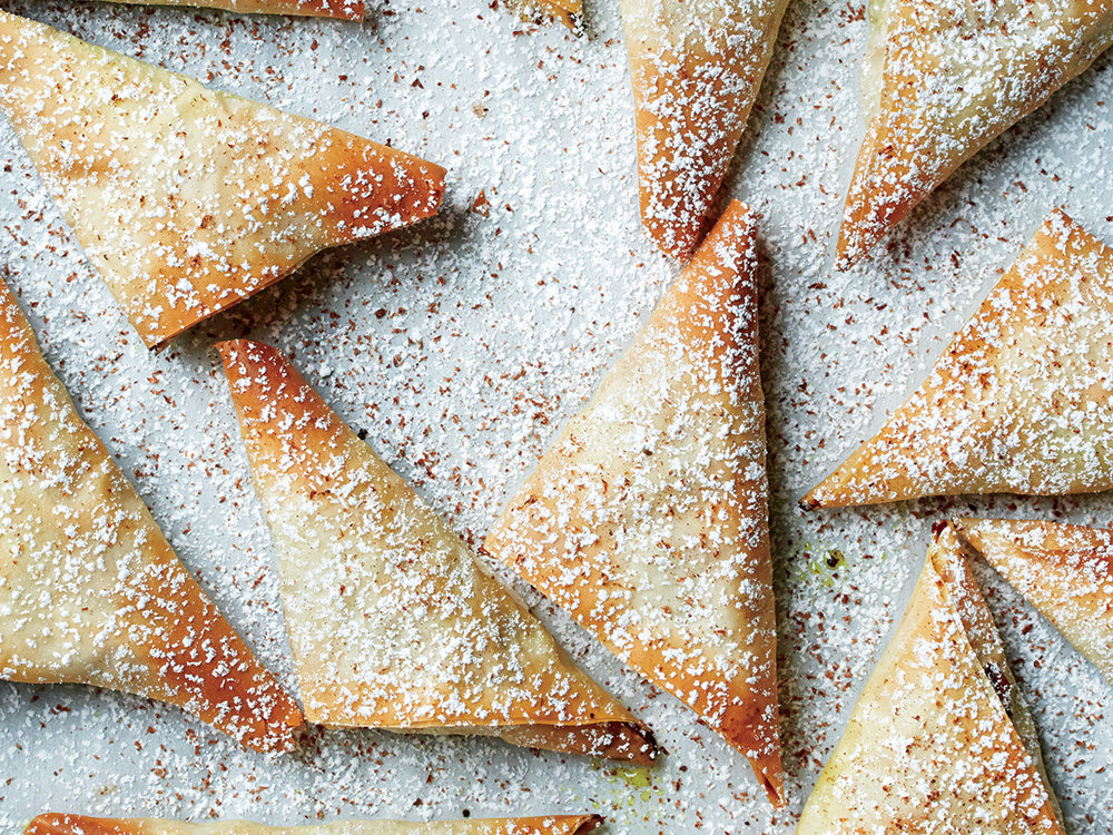 Chicken Phyllo Turnovers