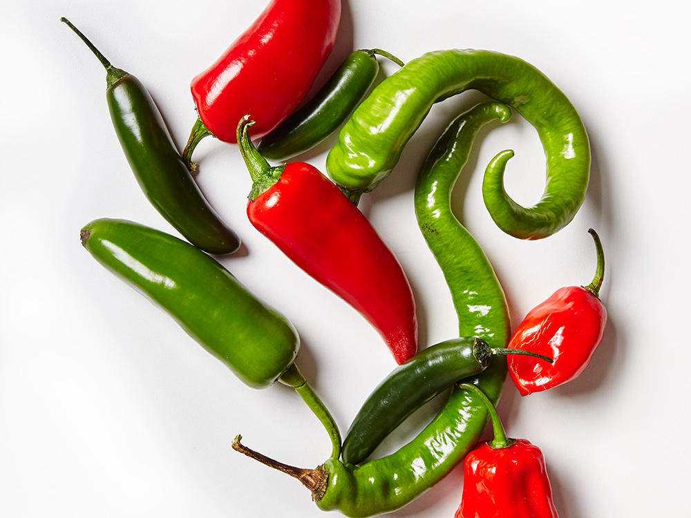 Fresh Hot Chiles