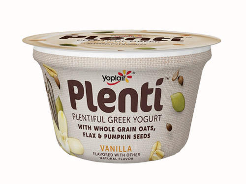 Yoplait Plenti Greek Yogurt, Vanilla