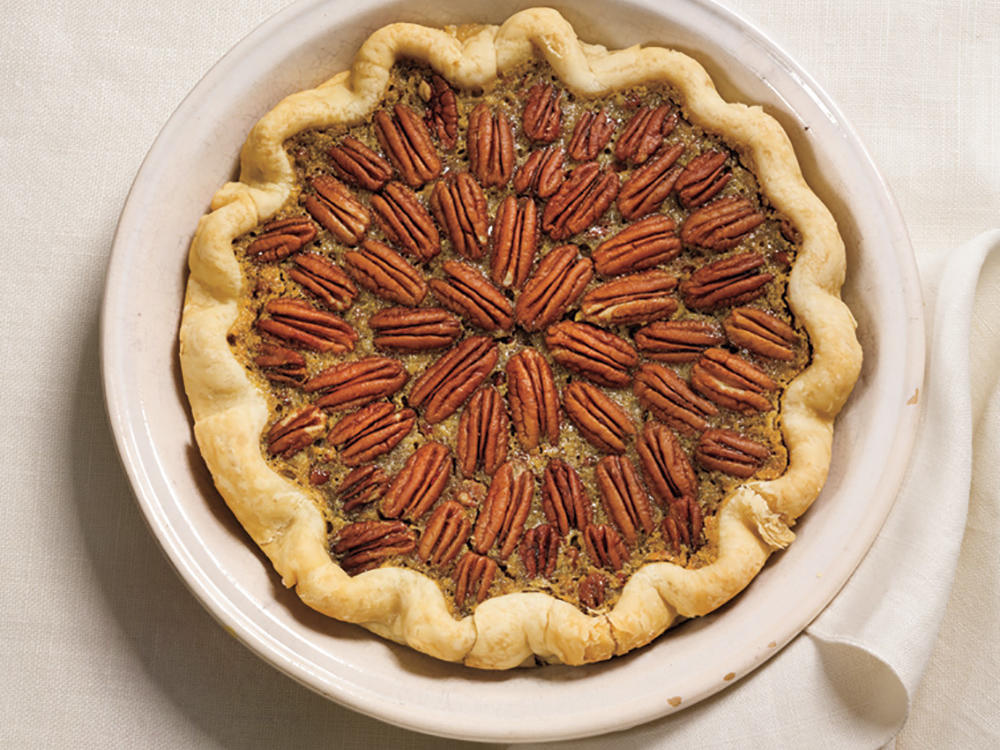 Variation 2: Maple-Bourbon Pecan Pie