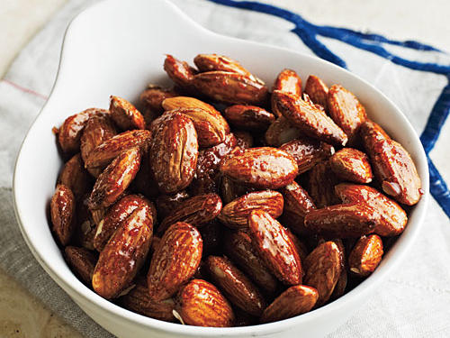 Honey-Glazed Almonds Recipe
