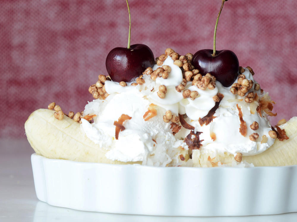 Coconut Banana Split